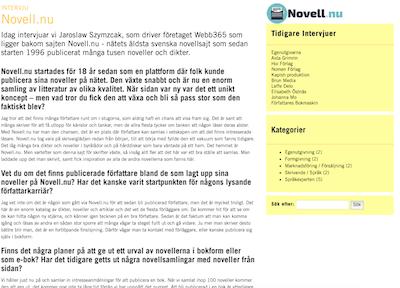 Novell.nu utssende år 2000